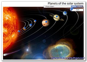 Planets of Solar System : 태양계의 행성들