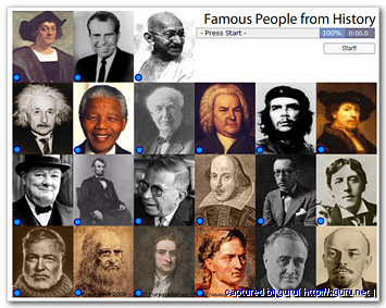 Famous people from history : 역사상 유명인물들