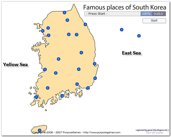 Famous places of South Korea
