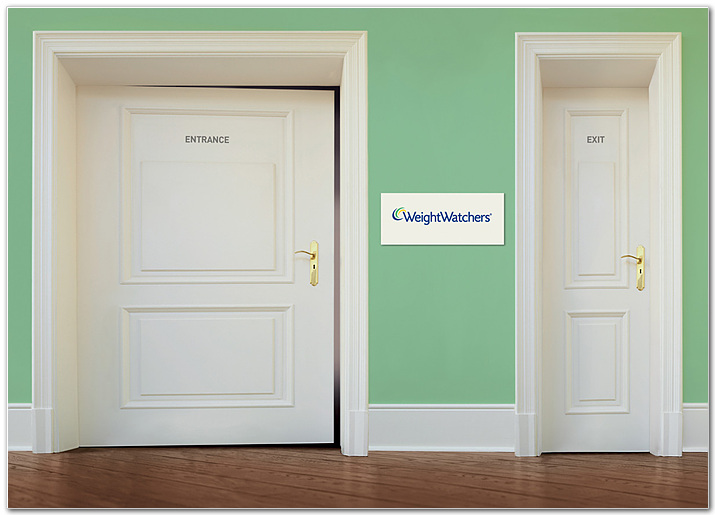 Weight Watchers : Entrance & Exit