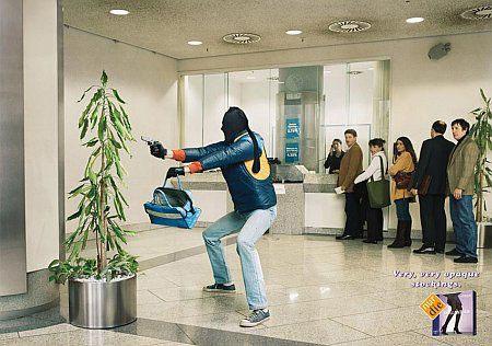 Ultra Black Stocking - Bank Robbery