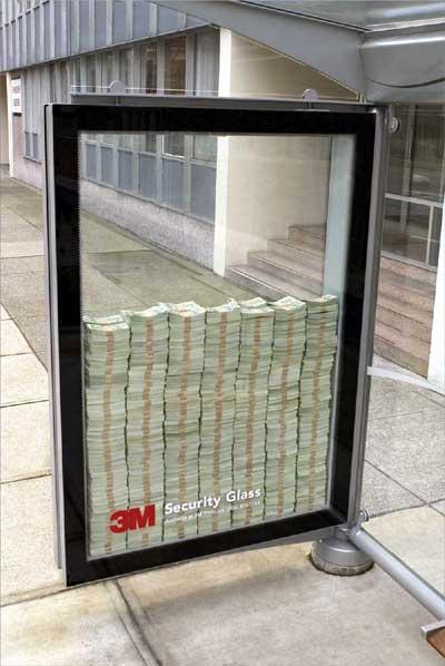 3M Security Glass : Get me if you can