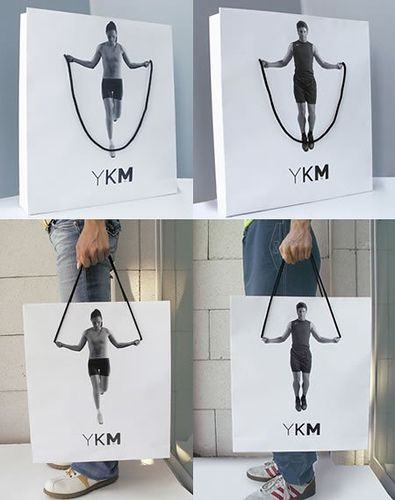 줄넘기 쇼핑백 : JumpRope Shopping Bag