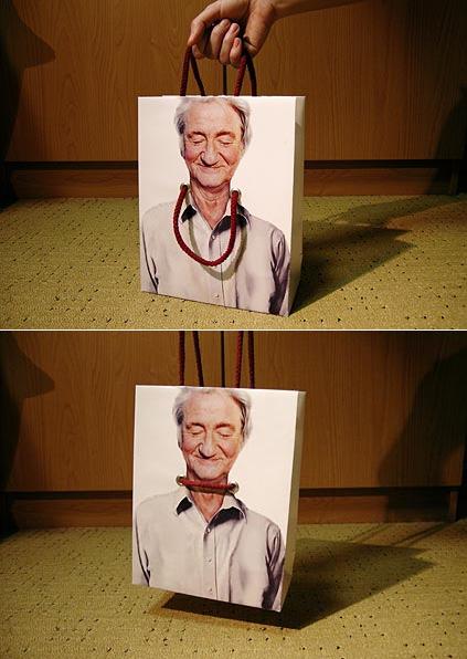 살인 쇼핑백 ㅡ.ㅡ : Hangman Shopping Bag
