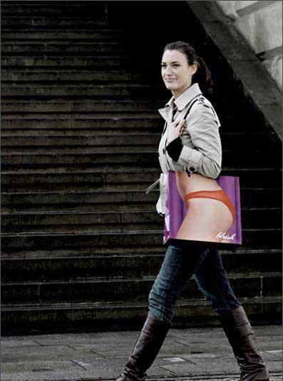 야한 쇼핑백 : Sexy Shopping Bag