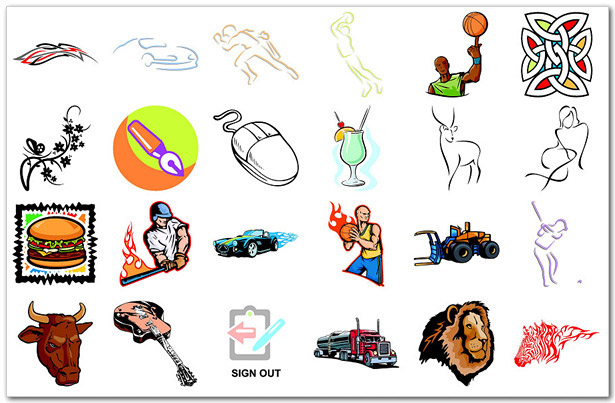 Free Vector Cliparts by Clipart deSIGN