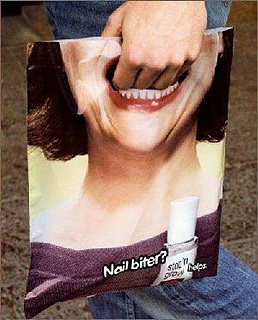 Mouth bag for Nail Biter