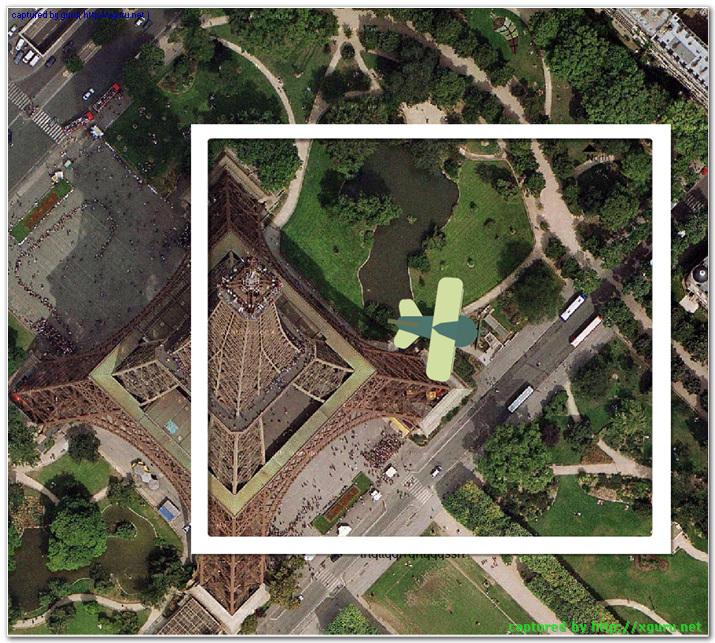 에펠탑 상공