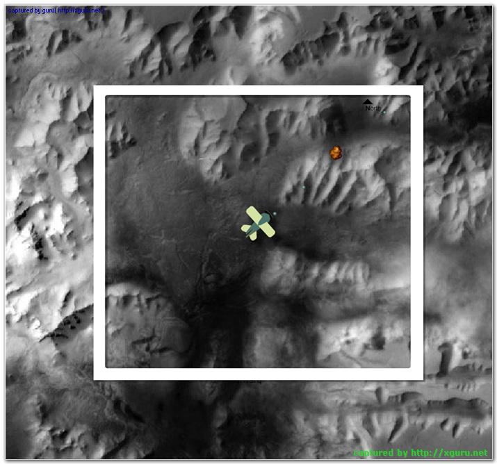 화성 상공
