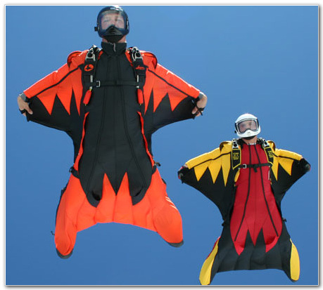 Fly with Wingsuit