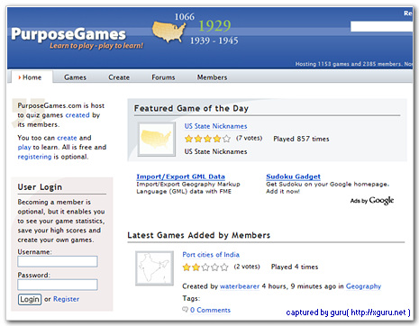 PurposeGames.com