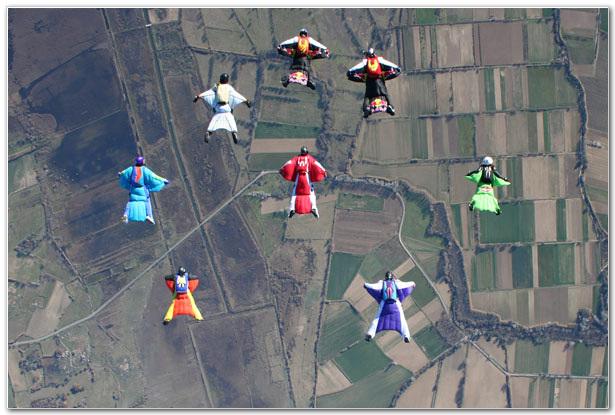 Wingsuit Skydiving