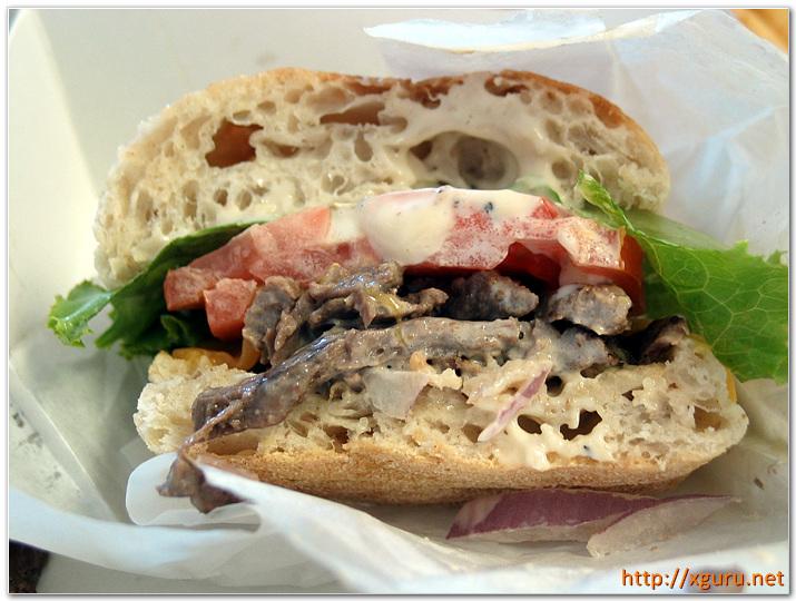 Ciabatta Burger