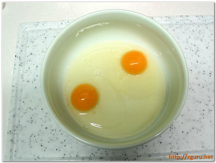 계란 2개
