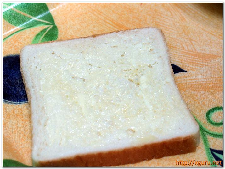 식빵에 버터