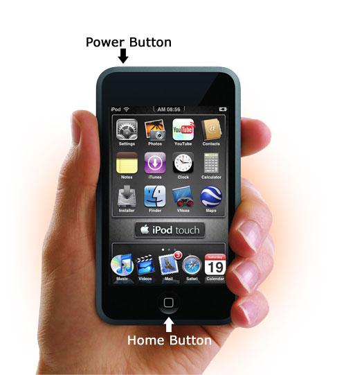 아이팟 터치 버튼