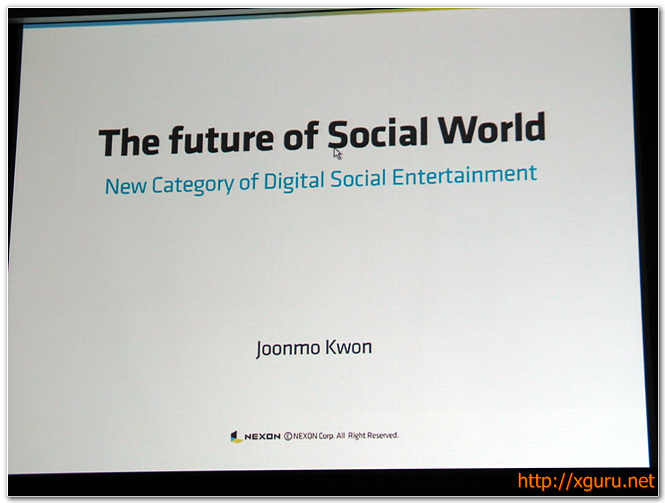 The future of social worlds
