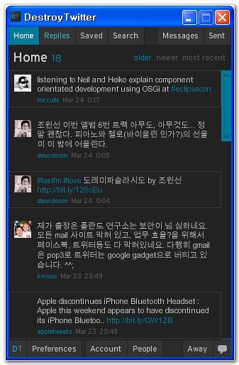 DestroyTwitter
