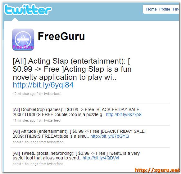 FreeGuru : Free iPhone 앱 알림이