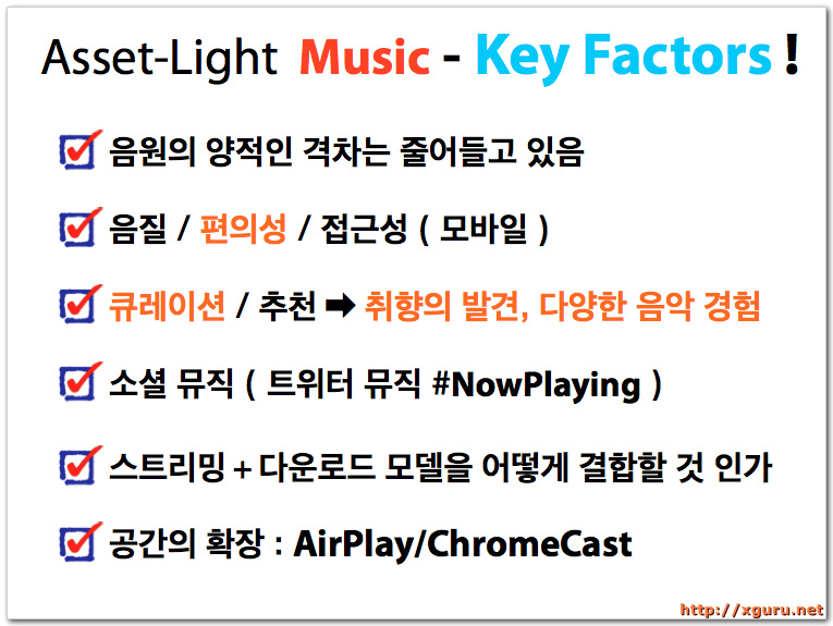 Asset-Light Music : Key Factors
