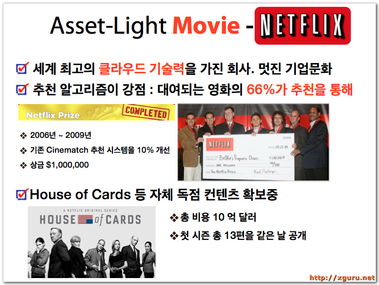 Asset-Light Movie - Netflix