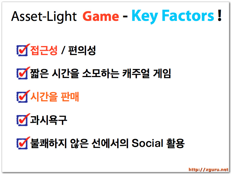 Asset-Light Game - Key Factors